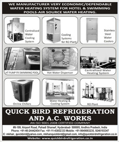 Quick Bird Refrigeration And A.C Works